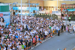 National education raises furor 2012 in Hong Kong Stock Photo