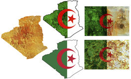 National elements for algeria Royalty Free Stock Image
