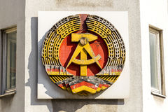National Emblem German Democratic Republic Royalty Free Stock Photos
