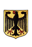 National Emblem of Germany isolated on White Royalty Free Stock Images