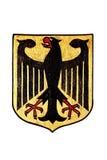 National Emblem of Germany isolated on White royalty free stock images