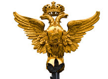 National Emblem of Russia. Monarch National Emblem of Russia the Hermitage Museum Gate Royalty Free Stock Photos