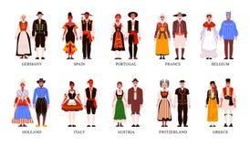 Free National European Clothes Set Royalty Free Stock Image - 221509786