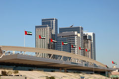 National Exhibition Centre in Abu Dhabi Stock Image