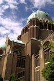 national för basilicabrussels koekelberg Royaltyfri Fotografi
