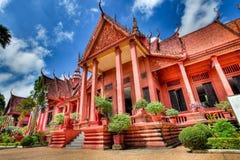 national för cambodia hdrmuseum Arkivfoto