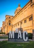 national för konstbarcelona catalonia museum royaltyfri foto