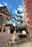National fairy heroes of bremen Stock Images