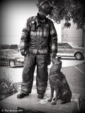 National Fire Dog Memorial Royalty Free Stock Photos