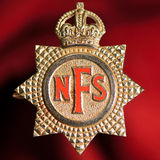 National Fire Service badge Royalty Free Stock Photo