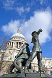 National Firefighters Memorial in London Stock Images