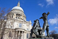 National Firefighters Memorial in London Stock Photography