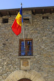 National flag of Andorra Royalty Free Stock Photos
