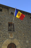 National flag of Andorra Stock Photography