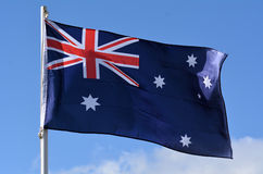 The National flag of Australia Royalty Free Stock Photos