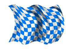National Flag Bavaria Stock Photography