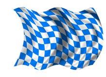 National Flag Bavaria. Illustration of the National Flag Bavaria Stock Photography
