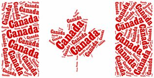National flag of Canada Stock Photography