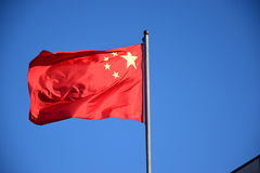 National flag of China Stock Image