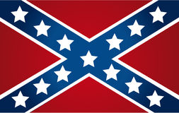 National flag of the Confederate States of America Stock Photography