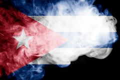 National flag of Cuba royalty free stock photos