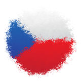 National flag of Czech Republic Stock Photo