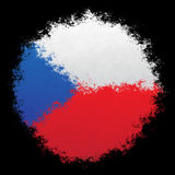 National flag of Czech Republic Stock Photos