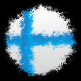 National flag of Finland Royalty Free Stock Photo