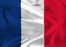 National flag of France Stock Image