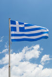 National flag of Greece country Stock Photography