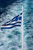 National flag of Greece Stock Photos