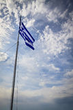 National flag of greece Royalty Free Stock Photos