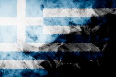 National flag of Greece stock illustration