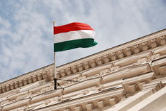 The national flag, Hungary Royalty Free Stock Photos