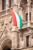 The National Flag of Hungary Royalty Free Stock Image