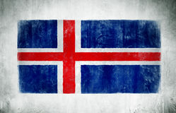 The National Flag Of Iceland Royalty Free Stock Photography