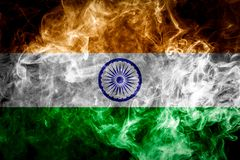 National flag of India royalty free stock photo