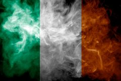 National flag of Ireland royalty free stock photo