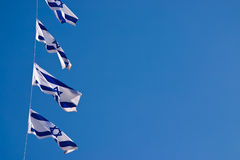 National flag of israel outdoors Stock Image