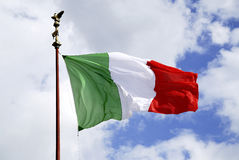 National flag of Italy Royalty Free Stock Photo
