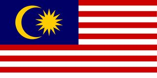 National flag of Malaysia. Background with flag of Malaysia stock illustration