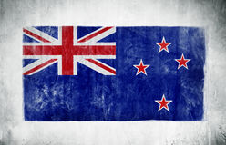 The National Flag Of New Zealand Royalty Free Stock Photography