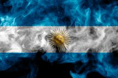 Free National Flag Of Argentina Royalty Free Stock Photos - 134656748