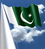 The national flag of Pakistan was adopted in its present form during a meeting of the Constituent Assembly on August 11, 1947, jus. T four days before the Stock Photos