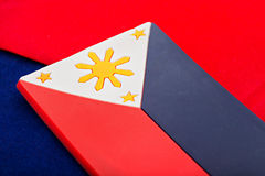 National flag of the Philippines Stock Images