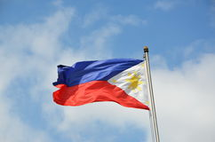 National flag of Philippines Royalty Free Stock Photography