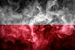 National flag of Poland stock photos