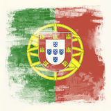 Grunge flag of Portugal Royalty Free Stock Photos