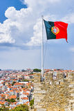 National Flag of portugal Royalty Free Stock Photography