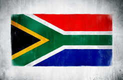 The National Flag Of South Africa Royalty Free Stock Photos
